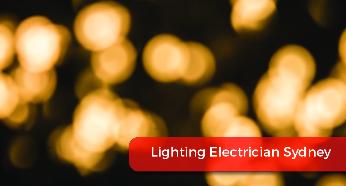 lighting electrician sydney