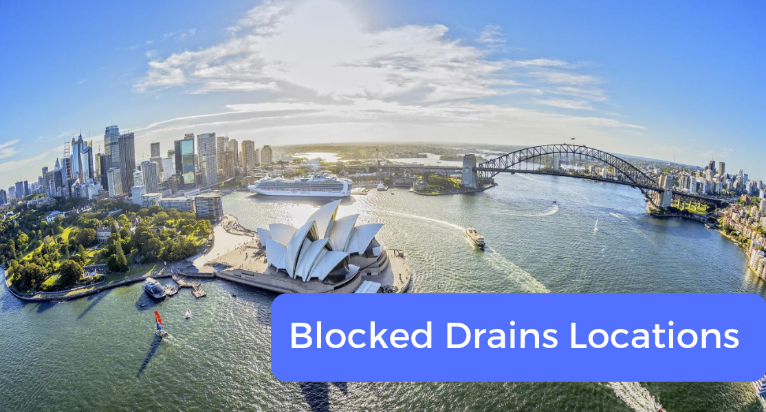 blocked drain locations