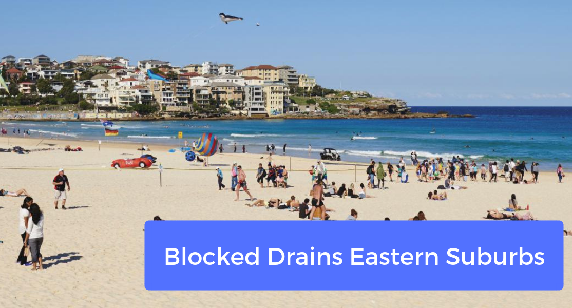 blocked drains eastern suburbs