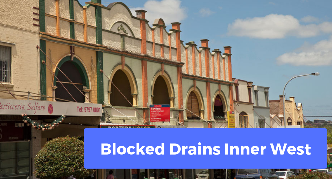 blocked drains inner west